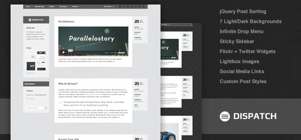 Dispatch-wordpress-theme