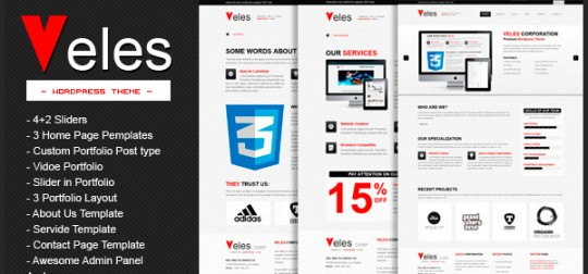 VELES-Premium-WordPress-Theme