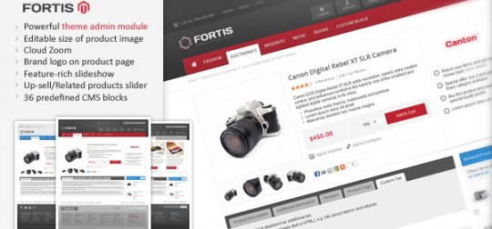 Fortis-flexible-Magento-Theme