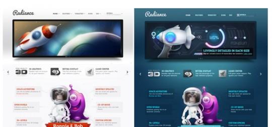 YooTheme Radiance Joomla 1.5&2.5模板