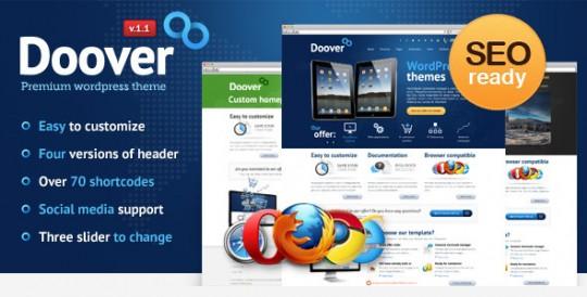 WordPress主题 Doover Doover-Premium-WordPress-Theme-540x274