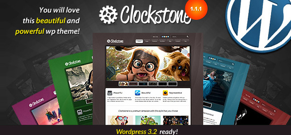 WordPress强大的商业主题模板Clockstone [荐][更新至v1.2.2]Clockstone-Ultimate-Wordpress-Theme