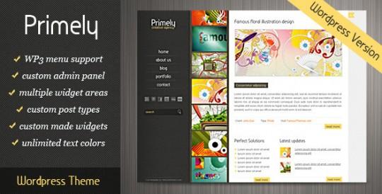 Primely-Wordpress-ThemePrimely 创意展示 WorPress主题