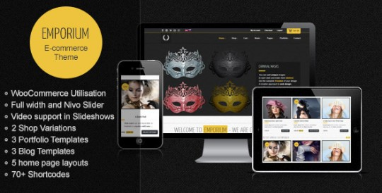 WordPress购物主题 Emporium WordPress Emporium-Responsive-WordPress-WooCommerce-Theme