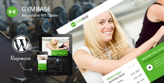 WordPress主题 GymBase 健身WordPress 练功房WordPress GymBase-Responsive-Gym-Fitness-WordPress-Theme