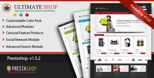 Ultimate-Shop-Pro-PrestaShop-template-PrestaShop 1.5.2模板 Ultimate Shop Pro 购物