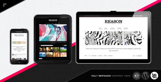 WordPress主题 Reason WP theme