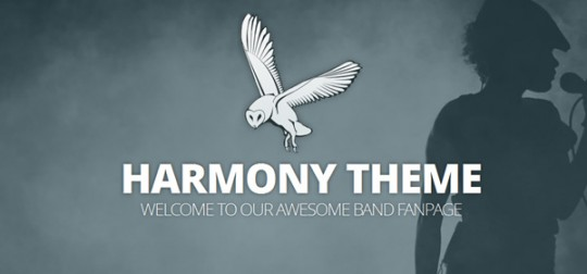 Harmony-Theme-WordPress WordPress主题 Harmony WordPress