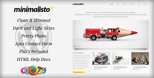 企业Minimalisto WordPress主题 Minimalisto WordPress Minimalisto-Premium-WordPress-Theme