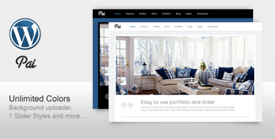Pai-Simple-and-Clean-Business-Corporate-Template- WordPress主题 Pai WordPress