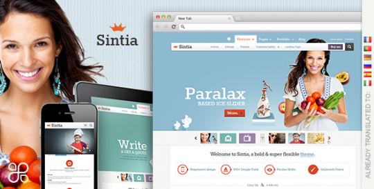 自适应商务 WordPress主题 Sintia WordPress[v2]Sintia-Responsive-for-Business-Portfolio