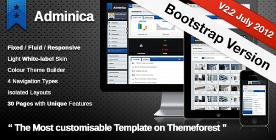 Adminica 专业管理面板 XHTML/CSS/PHP静态模板 Adminica-The-Professional-Admin-Template