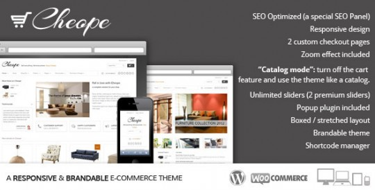 Cheope Shop WordPress WordPress商城中英双语主题[v1.2.3] Cheope-Shop-Flexible-e-Commerce-Theme