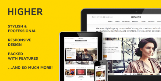 多功能 WordPress主题 Higher WordPress[v1.0.7] Higher-Premium-Multi-Purpose-WordPress-Theme
